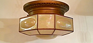 Bronze  flush mount ca. 1920 (Image1)