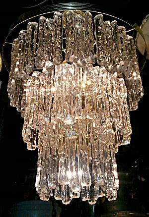Vintage Lucite Light Fixture (Image1)