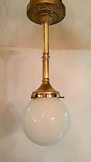 Antique style pendant light (Image1)
