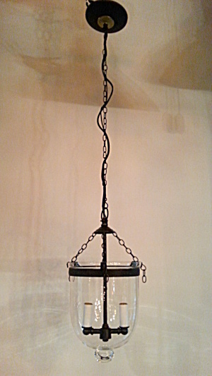 Bell jar pendant light (Image1)