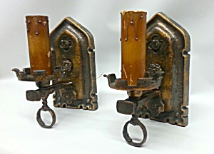 CAST BRASS WALL LIGHTS (Image1)