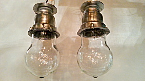 Set Of Industrial Ceiling Lights