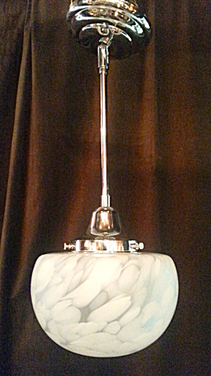 ART GLASS LIGHT FIXTURE (Image1)