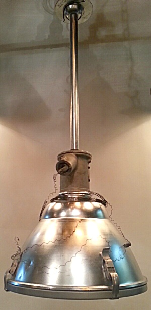 Vintage Factory Light--huge