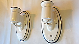 Porcelain Deco Sconces