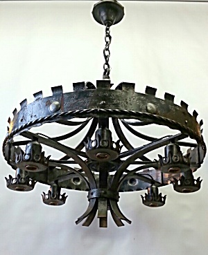 Arts And Crafts Hanging Light