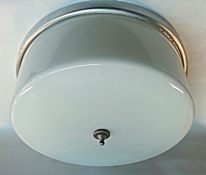 Flush Mount Ceiling Light Circa 1930