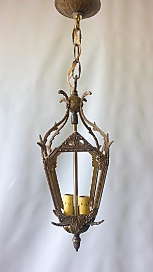 Vintage filigree pendant light (Image1)