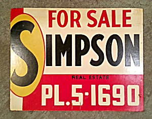 REAL ESTATE SIGN (Image1)