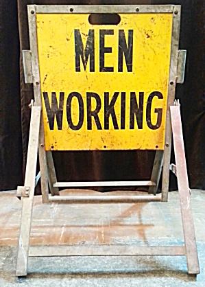 MEN WORKING SIGN (Image1)