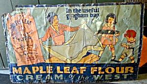 MAPLE LEAF FLOUR SIGN (Image1)