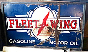 Fleet Wing Oil Sign