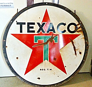 TEXACO GAS SIGN (Image1)