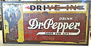 Dr Pepper Drive In Sign