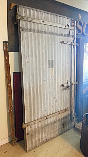 Super Cool Barn Type Fire Door