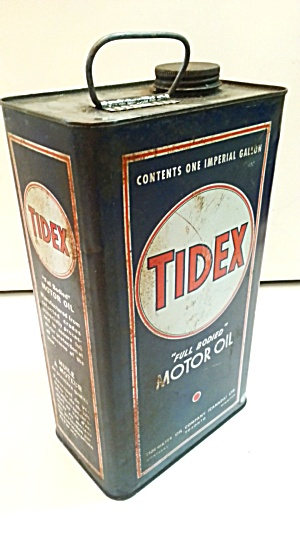 OLD TIDEX OIL CAN (Image1)