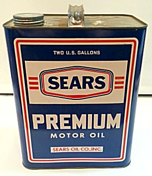 OLD SEARS OIL CAN (Image1)