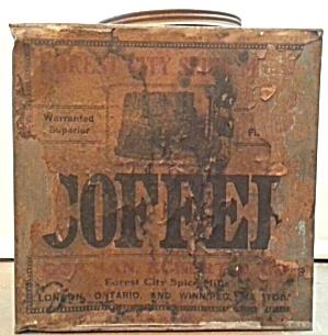 OLD COFFEE TIN (Image1)