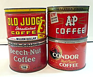 OLD COFFEE TINS (Image1)