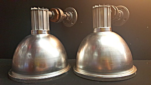 Industrial Wall Lights....1 Pair