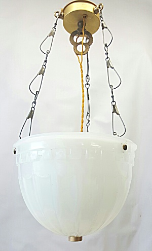 OLD PENDANT BOWL LIGHT (Image1)