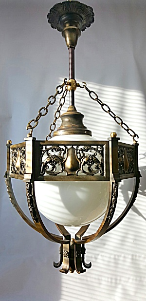 ANTIQUE PENDANT LIGHT  (Image1)