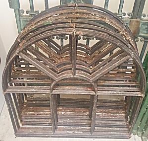 Arched Iron Window Frames