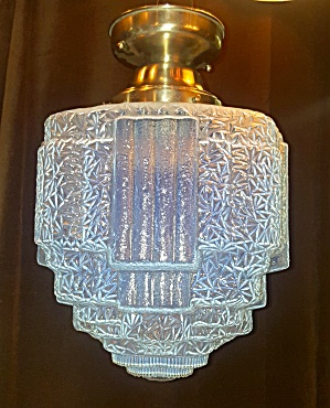 Art Glass Deco Light