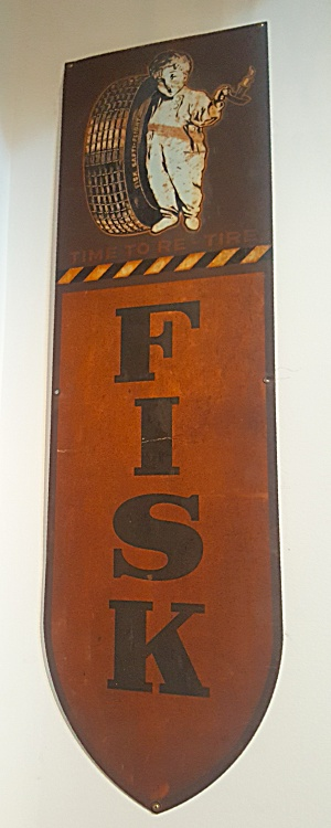 FISK TIRE SIGN (Image1)