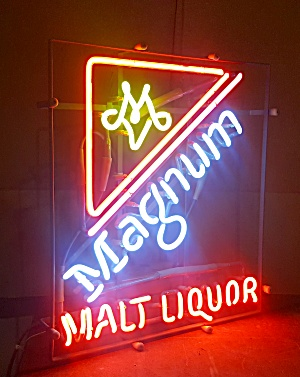 Magnum Beer Sign