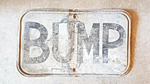 BUMP SIGN (Image1)