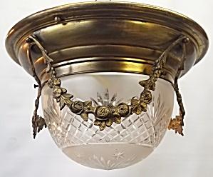 Crystal flush mount light (Image1)