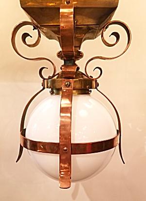 Classic pendant copper fixture (Image1)