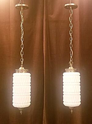 RETRO pendant lights....set of 2 (Image1)