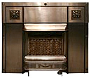 Deco Fireplace Surround