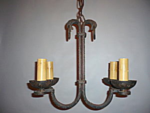 Arts and crafts pendat light fixtures (Image1)