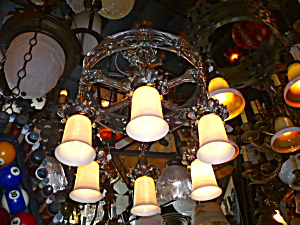 ARTS AND CRAFTS HANGING FIXTURE (Image1)