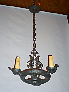 HAMMERED IRON FIXTURE (Image1)