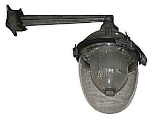 HALOPHANE INDUSTRIAL WALL SCONCE (Image1)