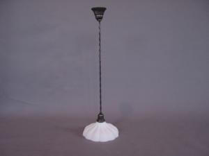 Pendant light with Sheffield style glass (Image1)