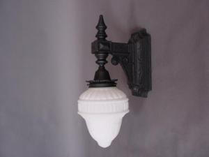 Iron Exterior Sconce
