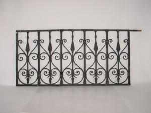Iron Fence Suitable As A Window Grille