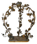 Click to view larger image of FRENCH EMBELLISHED BRASS ARBOUR CIRCA 1920S  (Image1)