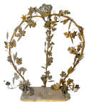 Click to view larger image of FRENCH EMBELLISHED BRASS ARBOUR CIRCA 1920S  (Image4)