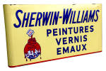 Click to view larger image of  SHERWIN WILLIAMS PAINT SIGN (Image1)