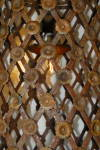Click to view larger image of  RUSTY IRON CAGE BISTRO LIGHT FRENCH STYLE (Image2)