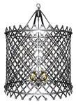 Click to view larger image of HUGE  DECO STYLE CHANDELIER (Image1)