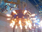 A dynamite industrial style fixture making a powerful statement More available in a similar fashion.