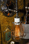 Click to view larger image of INDUSTRIAL STYLE WALL SCONCE  PRICE PER SCONC (Image4)