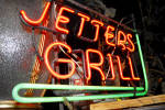 Click to view larger image of VINTAGE NEON GRILL SIGN (Image2)